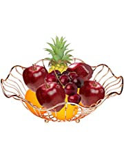 Fruit Basket home Fruit Basket Decorative Display Stand, Multi purpose bowl, Home accent furnishings