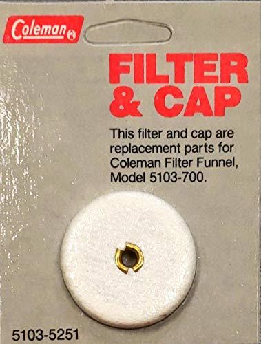 Coleman Filter & Cap Replacement Part 5103-5251 Filter Funnel Model 5103-700