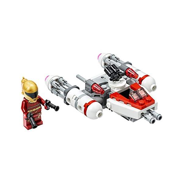 LEGO Star Wars - Microfighter Y-Wing della Resistenza con la Minifigure di Zorii Bliss con 2 Pistole Blaster, Set di… 3 spesavip