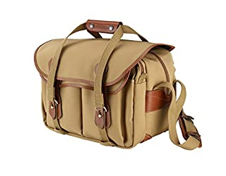 Billingham 335 Canvas Camera Bag with Tan Leather Trim - Khaki (B000JLM2KQ) | Amazon price tracker / tracking, Amazon price history charts, Amazon price watches, Amazon price drop alerts