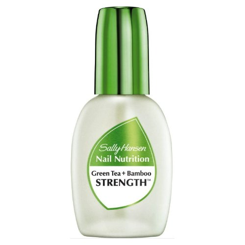 (6 Pack) SALLY HANSEN Nail Nutrition Green Tea + Bamboo Strengthener - Clear