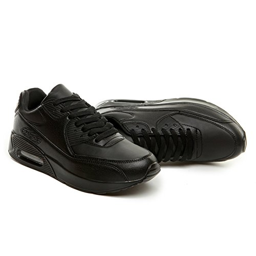 Esterno Casual da Comfort Sneakers in Air Pelle Donna Piatto D Tacco Casual per Lovers Scarpe Scarpe Scarpe qgRx6wqZt