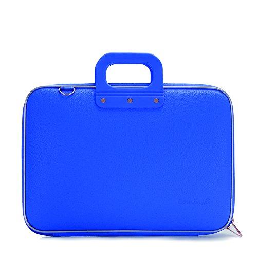 Bombata Classic Aktentasche für 15.6 Zoll Laptop, Blau