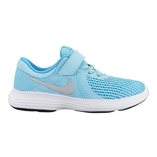 Nike Revolution 4 (PSV) 943307 400 Mädchen Klettverschluss/Slipper Halbschuh Black