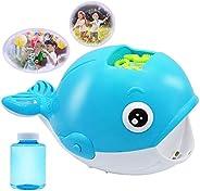JOYIN Bubble Machine Whale Bubble Maker Automatic Bubble Blower 2000+ Bubbles Per Minute for Kids, Summer Toy
