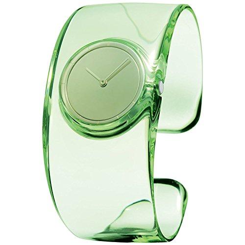 ISSEY MIYAKE Watch Men's / Women's O O Tokujin Yoshioka Design Green NY0W001