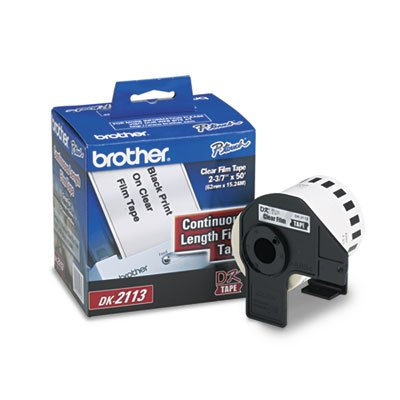 (Provides a number of custom labels from your QL label printer. - BROTHER INTL. CORP. * Continuous Film Label Tape, 2-3/7