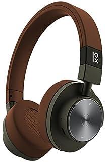Primux PT-BTNFCA15M - Auriculares inalámbricos, Color marrón