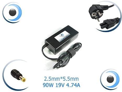 Adaptador de corriente/cargador para ordenador portátil Packard Bell Easynote/Tj66/-El-134fr píxeles: Amazon.es: Electrónica