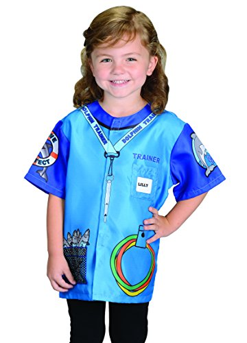 Dolphin Costumes For Kids (Aeromax My 1st Career Gear Dolphin Trainer, Easy to put on shirt fits most ages 3 to 6)