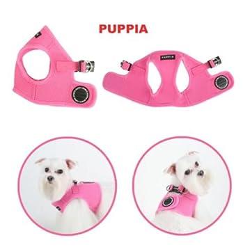 Puppia Soft Harness L Rosa