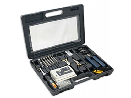 SYBA Accessory SY-ACC65047 50 Piece Computer Network Installation Tool Kit ()