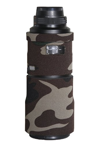 LensCoat LCN3004AFSFG Nikon 300 f/4 AFS Lens Cover  Forest Green Camo  Camera   Photo Accessories