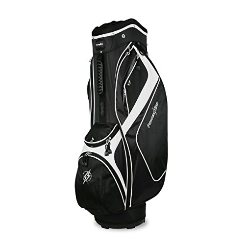 Powerbilt Air Attack Cart Bag, Black (Powerbilt Air)