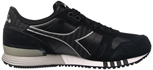 Diadora Titan Leather L/S, Men's Flatform Pumps Nero (Nero)
