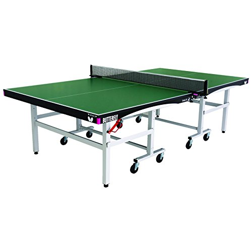 Butterfly Octet 25 Rollaway Table Tennis Table – 1 Inch Top Ping Pong Table – ITTF Professional Table Tennis Table – Folding Ping Pong Table Stores in 2 Pieces Review