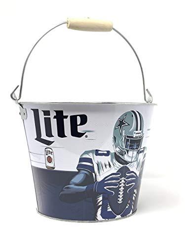 Miller Lite Dallas Cowboy Party Beer Bucket