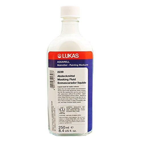 LUKAS Aquarell Watercolor Medium - Masking Fluid 250 ml Bottle
