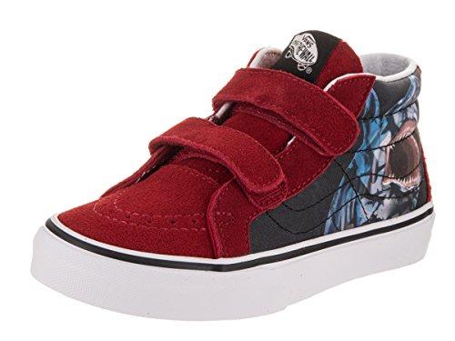 2054c5964ad2dc Vans Kids Sk8-Mid Reissue V (Sharks) Skate Shoe