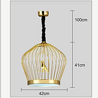 Restaurante chino una jaula de oro lámpara hierro café bar ...