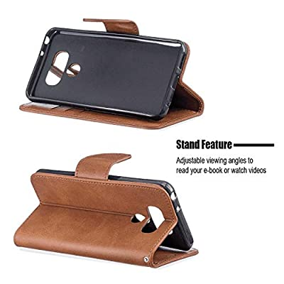 Samsung Galaxy S8 Flip Case, Cover for Samsung Galaxy S8 Leather Card Holders Wallet case Extra-Protective Business Kickstand with Free Waterproof-Bag Business: Baby