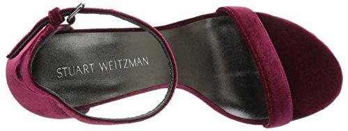Sandal Stuart Nearlynude Scarlet Weitzman Heeled Women q84RZ1