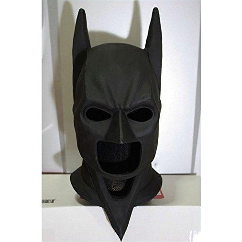 1:1 Custom Halloween Costume Cosplay Latex Batman The Dark Knight Rises Mask LA02
