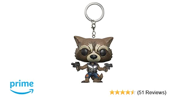 Funko Pop Keychain: Guardians of the Galaxy 2 Rocket Toy Figure