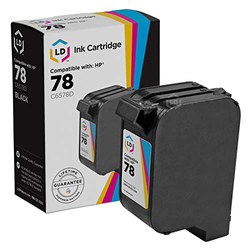 LD © Remanufactured Replacement Ink Cartridge for Hewlett Packard C6578DN (HP 78) Tri-Color