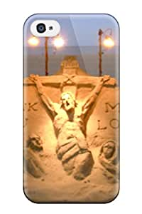 CzmrQZy21995WpeHg Case Cover Sand Art Iphone 4/4s Protective Case