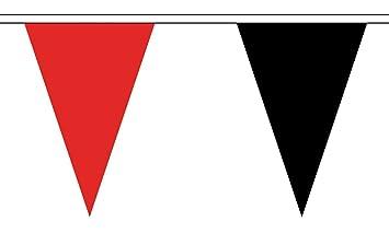 Die Flagge Großhändler B147611 Rot Und Schwarz Dreieck