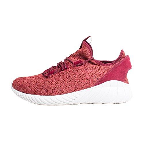 Adidas Unisex-adult Buisvormige Sok Doom Primeknit Sneakers, Groen, Rood Eu (rojmis / Buruni / Balcri)