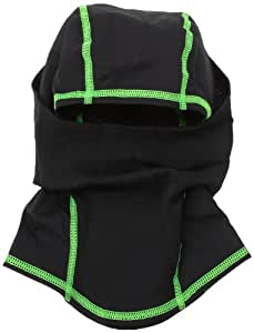 Under Armour ColdGear Infrared Hood, Black (001)/Hyper Green, One Size
