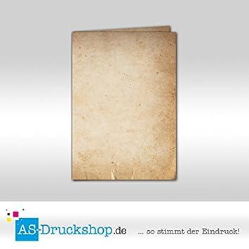 Urkundenpapier Pergament DIN A5-150 g-Offsetpapier Papyrus 100 Blatt