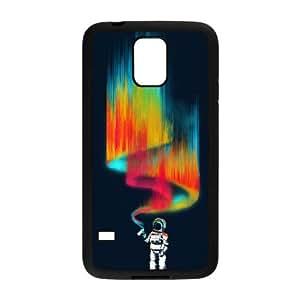 Samsung Galaxy S5 Cell Phone Case Black Space Vandal Abch