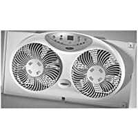 JARDEN Bionaire 9 3-speed Electronic Twin Window Fan with Remote / BW2300-X /