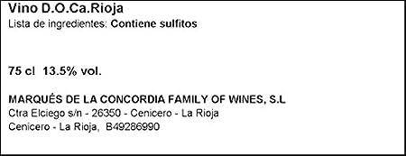 Lagunilla Crianza Vino Tinto DO - Rioja, 750ml