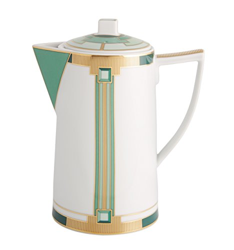 VISTA ALEGRE - EMERALD (Ref # 21122001) Porcelain Coffee Pot - 30oz