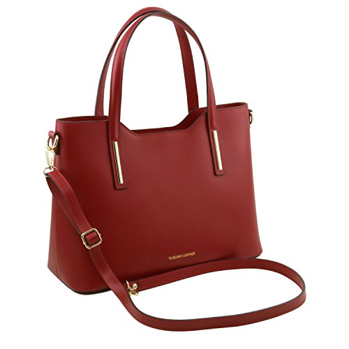 Leather Tuscany Leather Olimpia Tote Tote Red Tuscany Red Olimpia Leather Olimpia Red Tuscany Tote Tuscany x0wYPAqE
