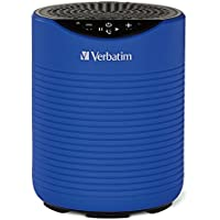 Verbatim Mini Wireless Waterproof Bluetooth Speaker with Microphone, Blue 98592