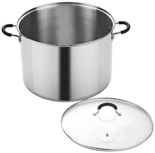 Cook N Home 20 Quart Stainless Steel Stockpot and Canning Pot with Lid by Cook N Home (Image #2)