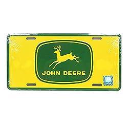 John Deere 4-legged Deere License Plate - KE05016