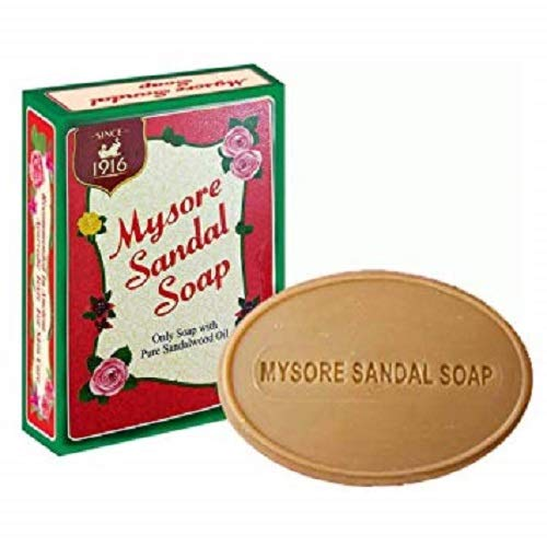 Mysore Sandal Bathing Soap, 125g [Pack of 3]
