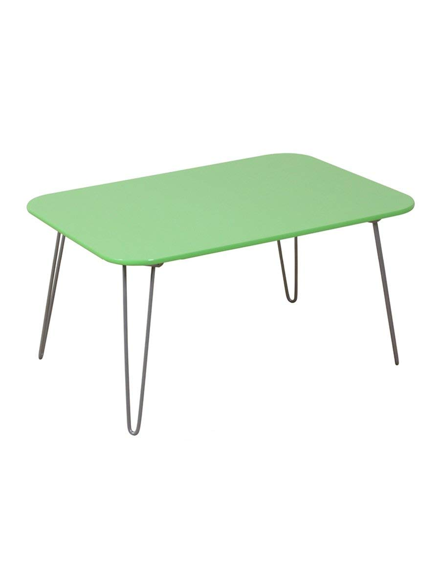 1 JZX Table-Wood - Based Panels Fold Small Practical color Computer Desk Bed Table