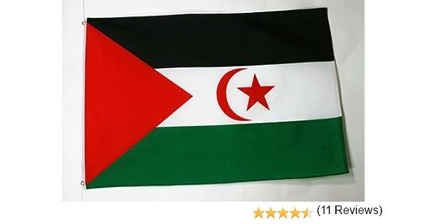 AZ FLAG Bandera de Sahara Occidental 150x90cm - Bandera REPÚBLICA ...