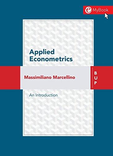 Econometrie ebook cours
