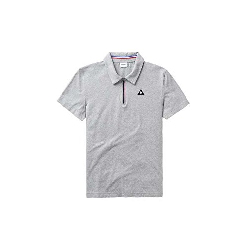 Le Coq Sportif Polo LCS Tech Light Heather (S): Amazon.es: Ropa y ...