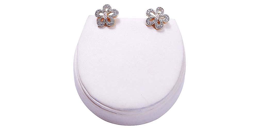 White /& Gold Girls Terramart/_ Earring Set/_Fashion Jewellery for Women