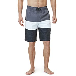 TSLA Men's Swimtrunks Quick Dry Water Beach MSB02 / MSB13 / MSB01