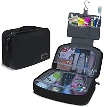 Dot&Dot Hanging Toiletry Bag for Men, Women and Kids - Organizer for Travel Accessories and Toiletries